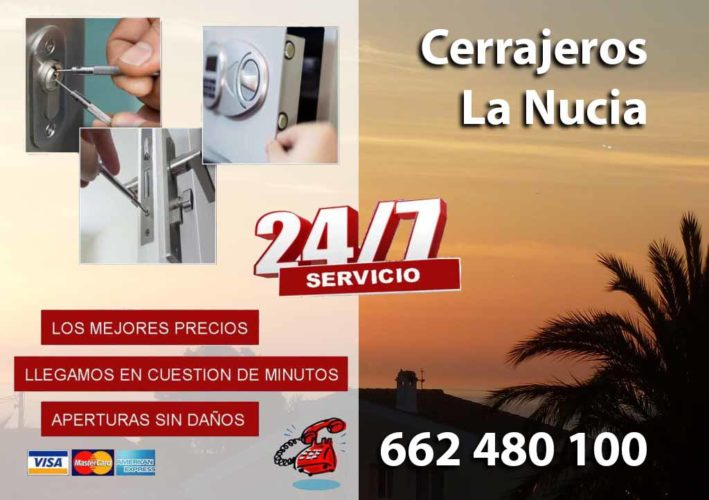 Cerrajeros en LaNucia